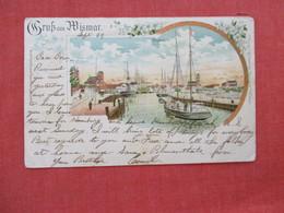 Germany > Mecklenburg-West Pomerania > Wismar   Stamp & Cancel=ref 2933 - Wismar