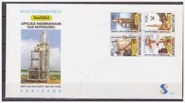 Surinam / Suriname 1997 FDC 208 Olie Raffinaderij Oil Refinery Ol Raffinerie Raffinerie De Petrole - Surinam