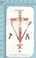 Carte Reliquaire - EX-Rupe S.S. Sepulcri, Pierre Du St-Sépulcre - Religion & Esotericism