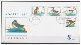 Surinam / Suriname 1997 FDC 209 Uil Owl Eule Hibou Vogel Bird Oiseau - Suriname