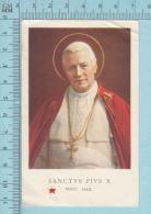 Image Reliquaire - Pape Sanctus Pius X, Pie X, Pont. Max. - Religion & Esotérisme