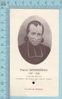 Image Reliquaire -  Pierre Monnereau, Parcelle De Vetement , Vendé France S.S.CC. De Jesus Et De Marie - Religion & Esotericism