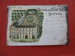 Gruss Aus Hotel Vogten  Belgium ??  Germany   Stamp & Cancel=ref 2933 - Belgium