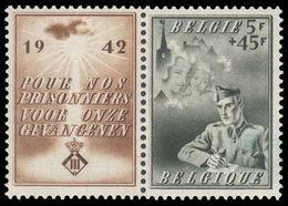 Belgium 1942 Prisoners Of War Fund Unmounted Mint. - Belgium