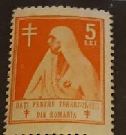 România 1930 QUENN .MARIA, 5 LEI ORANGE,MEDICINE,REDD CROSS, - Revenue Stamps