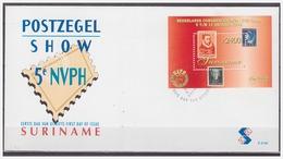 Surinam / Suriname 1998 FDC 219a NVPH-show Stamp On Stamp Timbre Sur Timbre S/S - Surinam