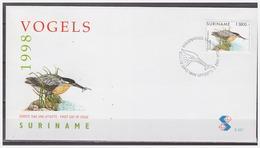 Surinam / Suriname 1998 FDC 221 Vogel Bird Reiger Heron Reiher Mangrovereiger - Surinam