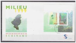 Surinam / Suriname 1999 FDC 227a  STINASU Nature Reserve Naturschutzgebiet S/S - Suriname