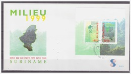 Surinam / Suriname 1999 FDC 227a  STINASU Nature Reserve Naturschutzgebiet S/S - Surinam
