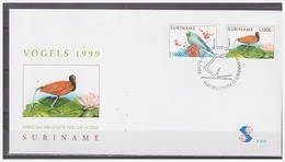 Surinam / Suriname 1999 FDC 228 Vogel Bird Vogel Oiseau Pigeon - Surinam