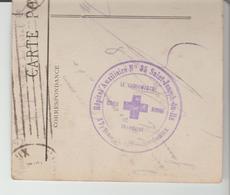 """1ère GM: """" HOPITAL AUXILIAIRE N° 35 St JOSEPH DU HÂ """" à Bordeaux / CPA De 1915 TB - Postmark Collection (Covers)"""