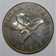 CUBA - KM 46 - 1 PESO 1980 - Cuban Flora - UNC - Cuba