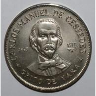 CUBA - KM 186 - 1 PESO 1977 - CARLOS MANUEL DE CESPEDES - UNC - Cuba