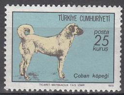 TURKEY   SCOTT NO . 1953      MNH      YEAR  1973 - 1921-... Republic