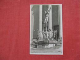 RPPC Stockholm  Orfeus Statue  Has Stamp & Cancel=ref 2934 - Sweden