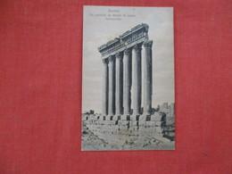 Syria Baalbek  Temple De Jupiter    Ref 2934 - Syria