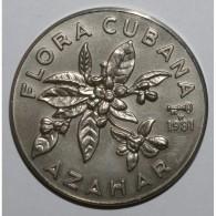 CUBA - KM 53 - 1 PESO 1981 - Flore Cubaine - FLEUR DE COIN - Cuba