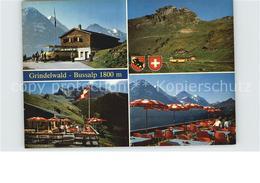 12582637 Grindelwald Bergrestaurant Bussalp Sonnenterrasse Alpen Grindelwald - BE Berne
