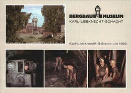 72442477 Bergbau Mining Bergbaumuseum Oelsnitz Karl-Liebknecht-Schacht  Rohstoff - Professions
