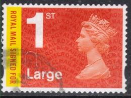 GB 2015 QE2 1st Large Letter Recorded Delivery Machin SG U2984a  ( J805 ) - 1952-.... (Elizabeth II)