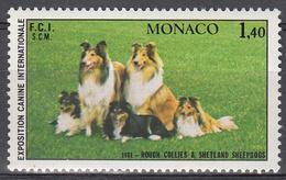 MONACO     SCOTT NO . 1285    MNH     YEAR  1981 - Unused Stamps