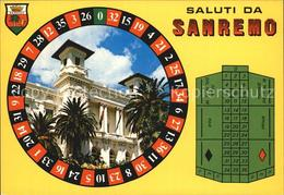72461221 Casino Spielbank Sanremo Roulette  Spiel - Postcards