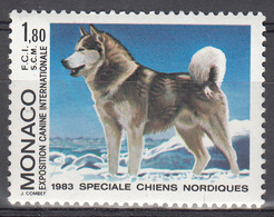 MONACO     SCOTT NO . 1366    MNH     YEAR  1983 - Unused Stamps