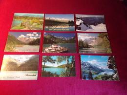 LOT DE 9 CARTES   POSTALES  DU CANADA - Cartes Postales