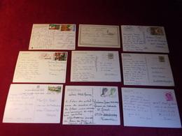 LOT DE 9 CARTES   POSTALES  D'AFRIQUE - Postcards
