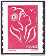 France Marianne De Lamouche N° 3744 A ** Ou 49 A Autoadhésif - Le TVP Rouge -> ITFV Type 1 - 2004-08 Maríanne De Lamouche