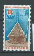 New Caledonia 1972 South Pacific Arts Festival 24 Fr Single MNH - Ongebruikt