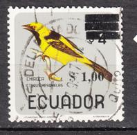 ##24, Équateur, Ecuador, Oiseau, Bird, Surimpression, Overprint - Ecuador