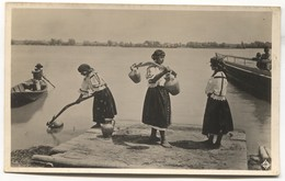 MOHACS - HUNGARY, FOLK COSTUMES, ETHNO, DONAU DANUBE, OLD PC - Ungheria