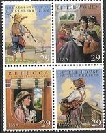 US  1993  Sc#2788a 29c Classic Books Block Of 4 MNH** - United States