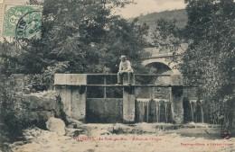 H118 - 01 - VILLEBOIS - Ain - Le Pont Du Mat - Ecluse De L'Usine - Other Municipalities