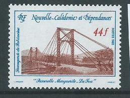 New Caledonia 1985 Suspension Bridge 44 Fr Single MNH - New Caledonia