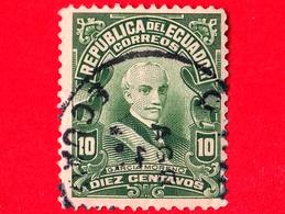 ECUADOR - Usato - 1925 - Presidente Garcia Moreno - 10 - Ecuador