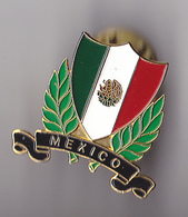 PIN'S  THEME VILLE MEXICO  LE DRAPEAU  RARE - Cities