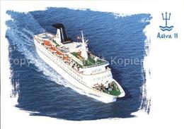 72525133 Schiffe Ships Navires Astra II  Schiffe - Non Classificati