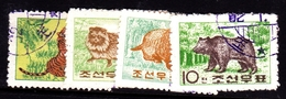 Korea Democratic People's Republic Scott 381-381 1962 Animals, Used Set - Corée Du Nord