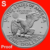 1980-S Susan B Anthony Dollar Proof - Federal Issues