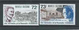 New Caledonia 1988 Famous Writers Set Of 2 MNH - New Caledonia