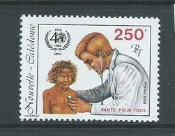 New Caledonia 1988 WHO Hospital 250 Fr Single MNH - New Caledonia