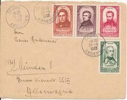 France Cover Sent To Germany Sedan Ardennes 28-6-1948 Good Franked - France