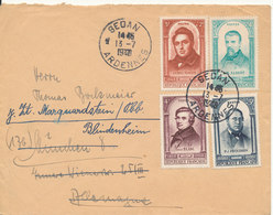 France Cover Sent To Germany Sedan Ardennes 13-7-1948 Good Franked - France