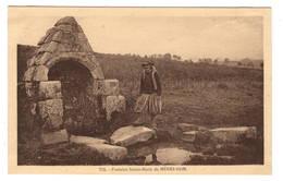 29 FINISTERE - PLOMODIERN Fontaine Sainte-Marie Du Menez-Hom - Plomodiern