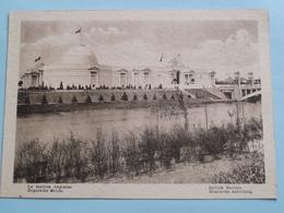 EXPO 1930 Te ANTWERPEN / BRITISH Section ( Formaat 17,5 X 12,5 Cm. / Zie Foto's ) ! - Autres