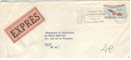 1738 - Tarif  100 F - Postmark Collection (Covers)