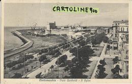 Lazio-civitavecchia Viale Garibaldi Il Sylos Veduta Panoramica Anni 30 - Civitavecchia