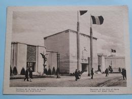 EXPO 1930 Te ANTWERPEN / Pavillon De La VILLE De PARIS ( Formaat 17,5 X 12,5 Cm. / Zie Foto's ) ! - Vieux Papiers